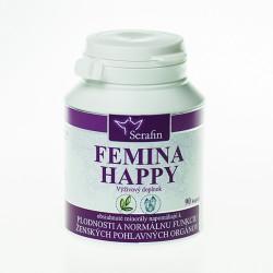 Femina happy - prírodné kapsule 90 kaps.