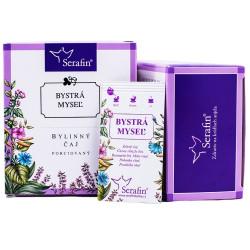 Bystrá myseľ - bylinný čaj porciovaný 15 ks