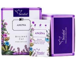 Čistý krk/Angína/- bylinný čaj porciovaný 15 ks