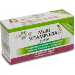 Multi-Vitaminerál 30 kaps.
